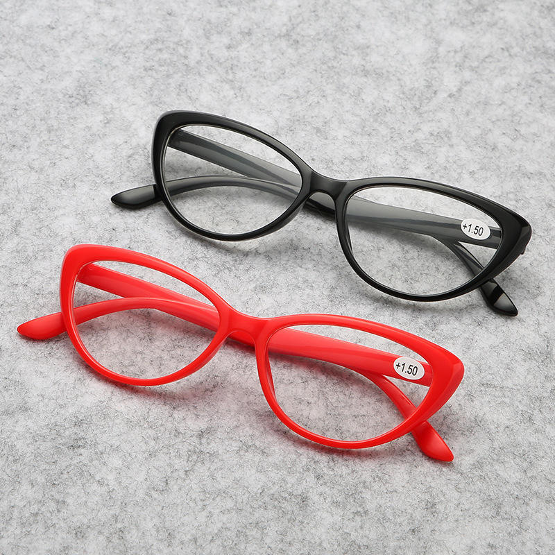 Factory direct sales fashion personality HD resin presbyopia glasses