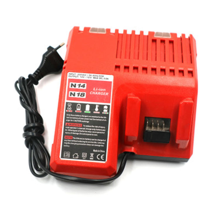 Milwaukee 18v battery charger 230vac battery charger batterie charger universal