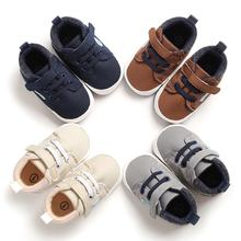 Fashion Baby Boys Anti-Slip Shoes Sneakers Toddler Soft Soled First Walkers