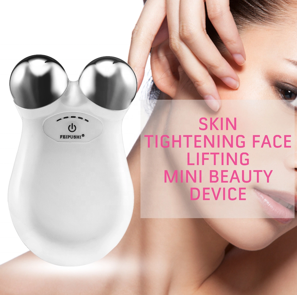 Handheld Microcurrent Galvanic Frequency Face Lift Facial Massager Device