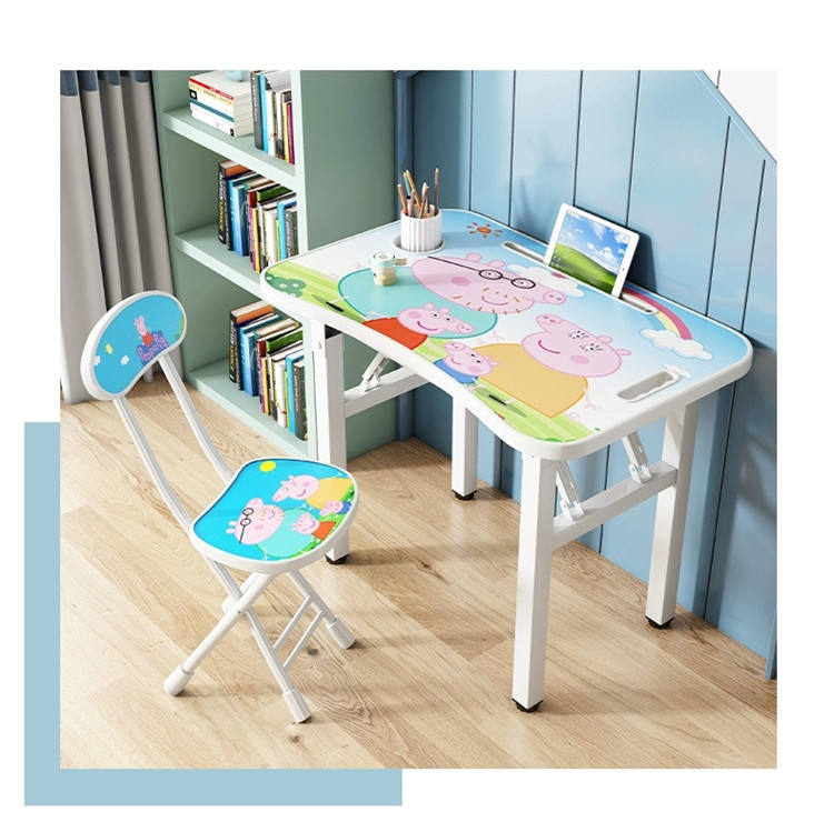 Hot sale Wooden Kids Table and Chairs Set Toddler Children Activity Table