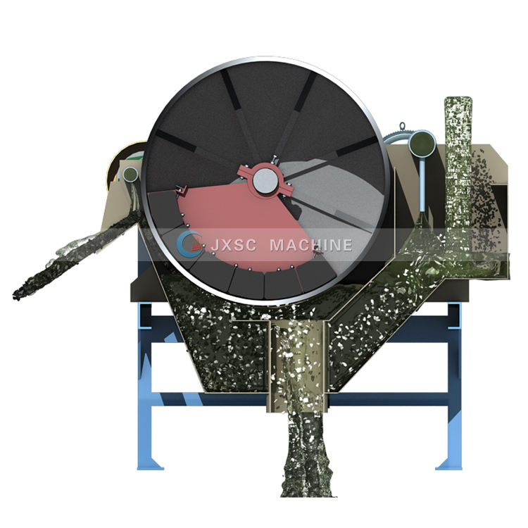 Coltan Ore Processing Magnet Roller Separador Gold Mining Drum Separator High Intensity Wet Magnetic Separator Machinery