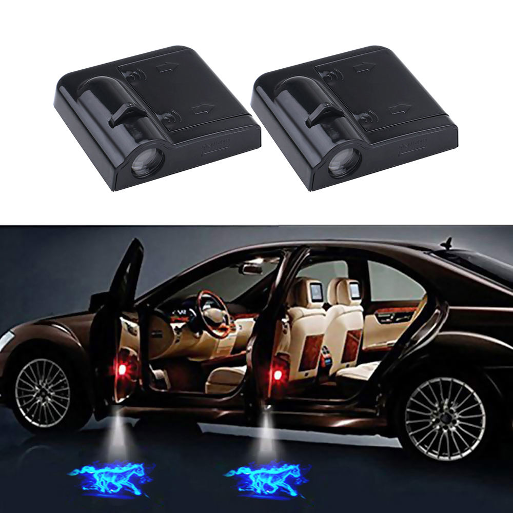 Wireless 3D Car Courtesy Door LED Ghost Shadow Laser Projector Lights Custom Logo Welcome Light Led Logo Car Door Light For Cars
