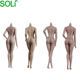 Doll European female Shape Seamless Body Super Movable 1/6 Action Figure In Tan Skin Big Bust