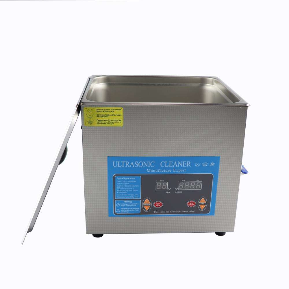 PCB board cleaning 40KHz 13L 360W ultrasonic cleaning machine