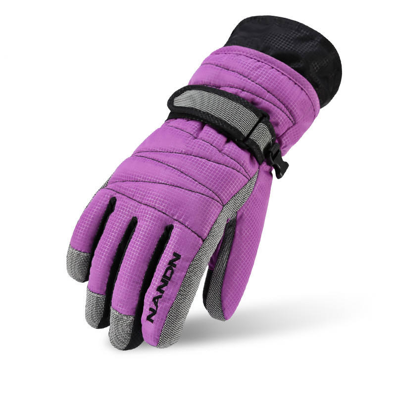 Waterproof Winter Snowboard Protector Touch Screen Women Ski Gloves for Kids