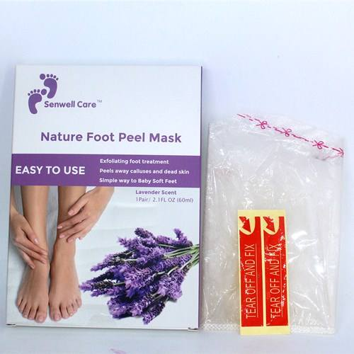 Peeling Whitening Purederm Callus Removal Foot Sheet Mask