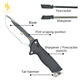 Hunting Knives +Fire starter allume-feu +sheath Rescue Slicing Carving New Outdoor Blade Type Straight Rated Fixed