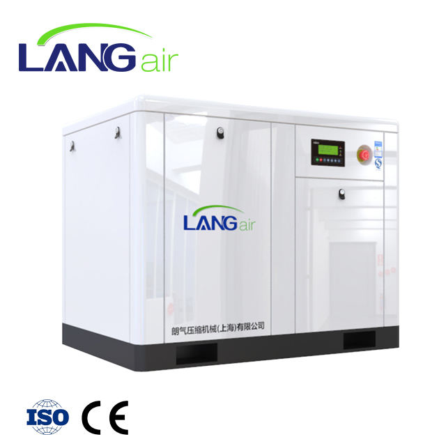LA-75GA/W energy saving100hp 8bar direct driven industrial screw air compressor 75kw