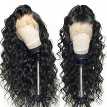 Shy Hair Heavy Density Peruvian Lace Front Wigs For Black Women Human Curly Lace Frontal Wig With Baby Hair Virgin Hair Wigs