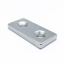 Strong neodymium countersunk magnet N52 magnets neodym block magnet