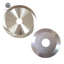 Circular Cutting Blade Round Cutting Knives for Plastic Paper Rubber Slitting Cut From Ruili Group OEM Factory