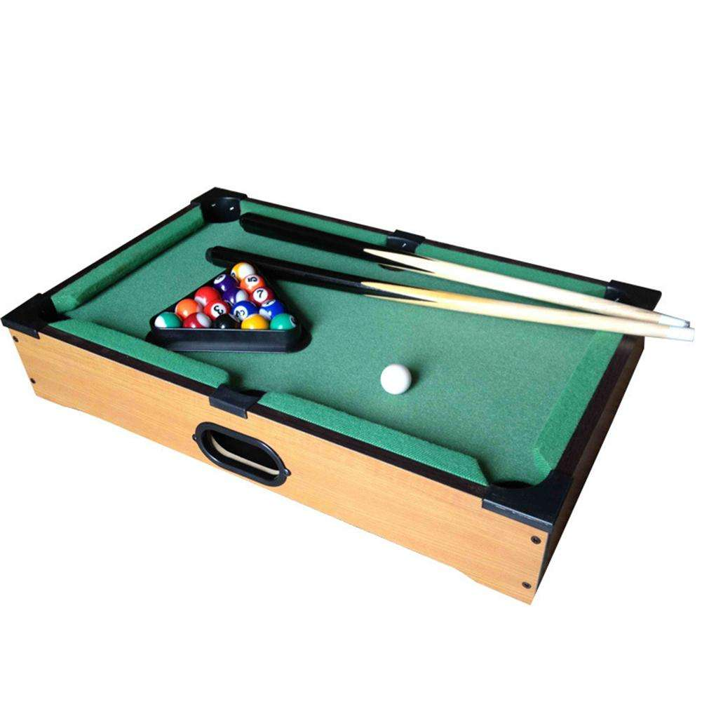 Mini Billiards Set Wooden Tabletop Pool Table Snooker Game Toys For Children Household Party Playing Supplies Dropshipping