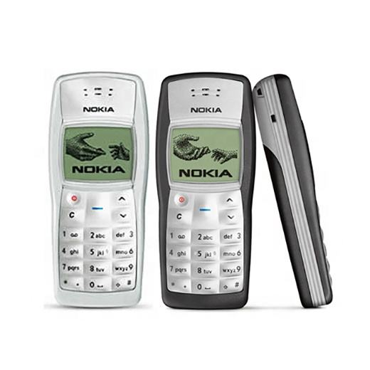 1100 Cheapest Unlocked Cellphone for Nokia 1100 Black color Only Refurbished Mobile Phone