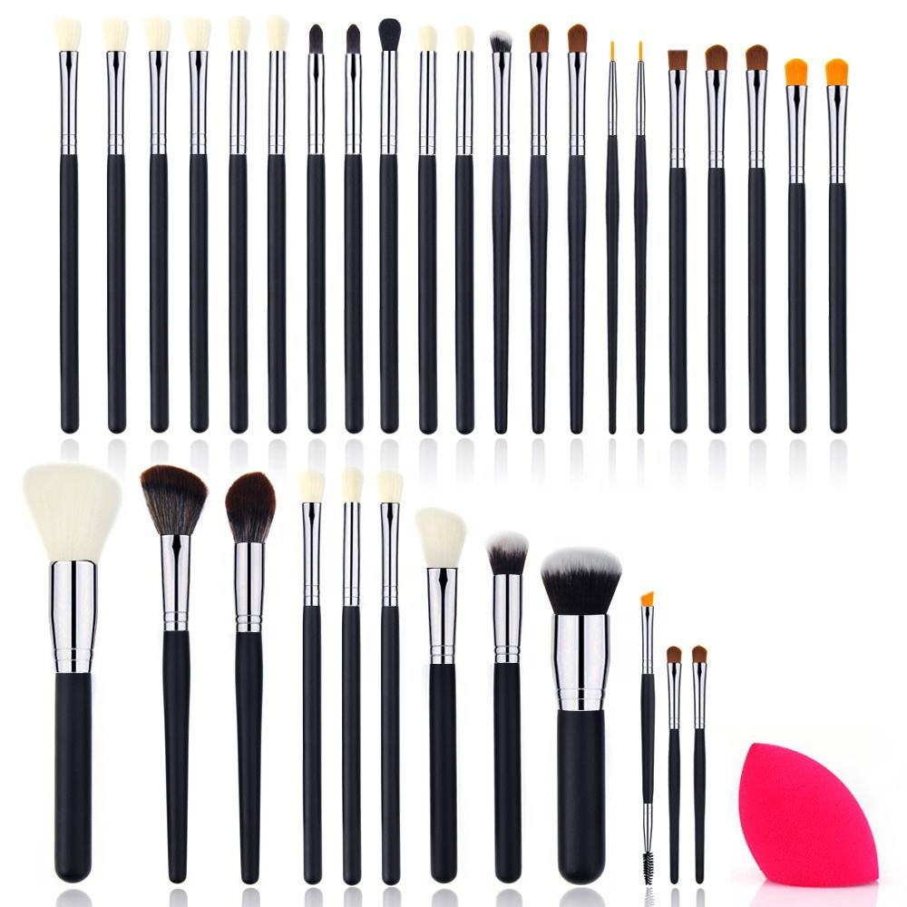 NEW cosmetic makeup kit 33pcs brush set 50% OFF promotional private label cosmetic brushes 2020