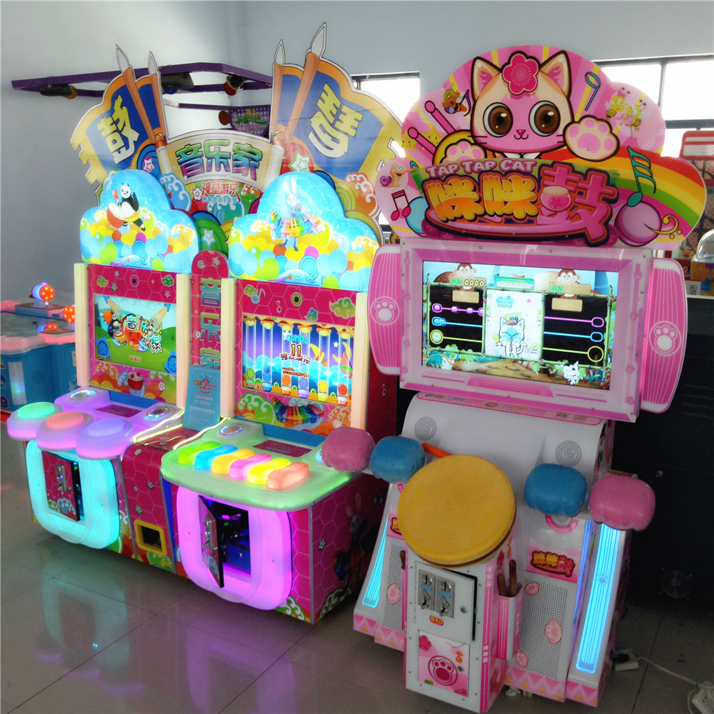 with mp3 music and play games coin operated games for sale