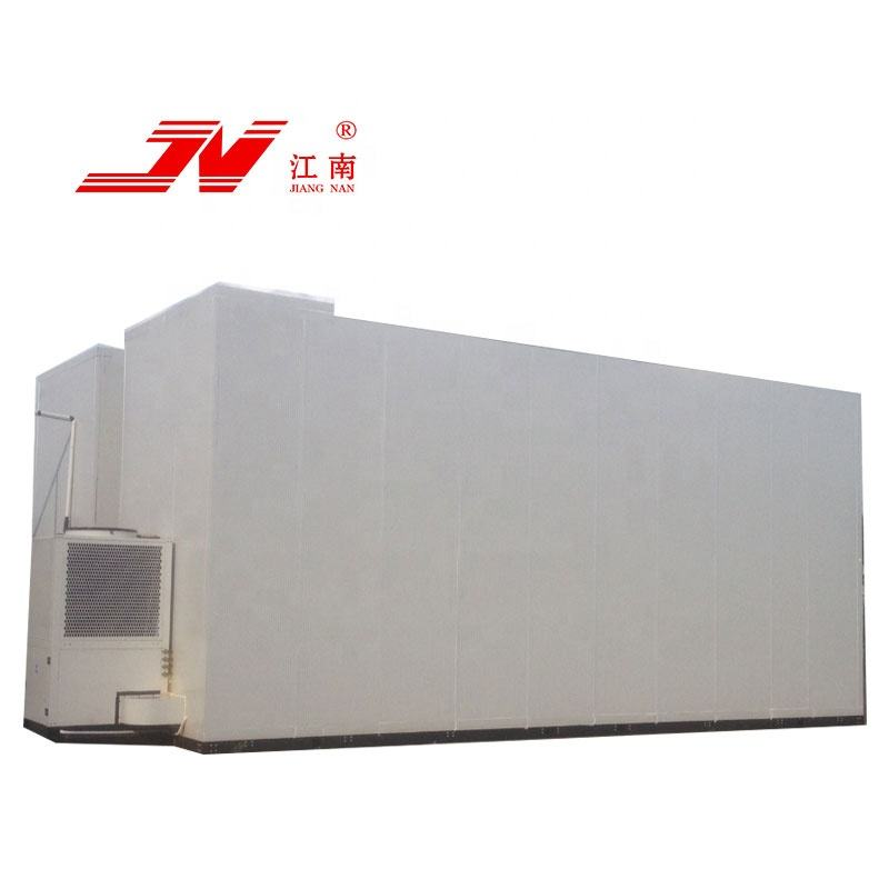digital showcase cold room containers mini blast freezer for chicken with pressure relief port controller