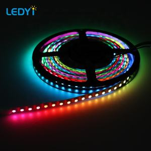 Car light dc12v voltage RGB changing color flex LED strip light for car decoration