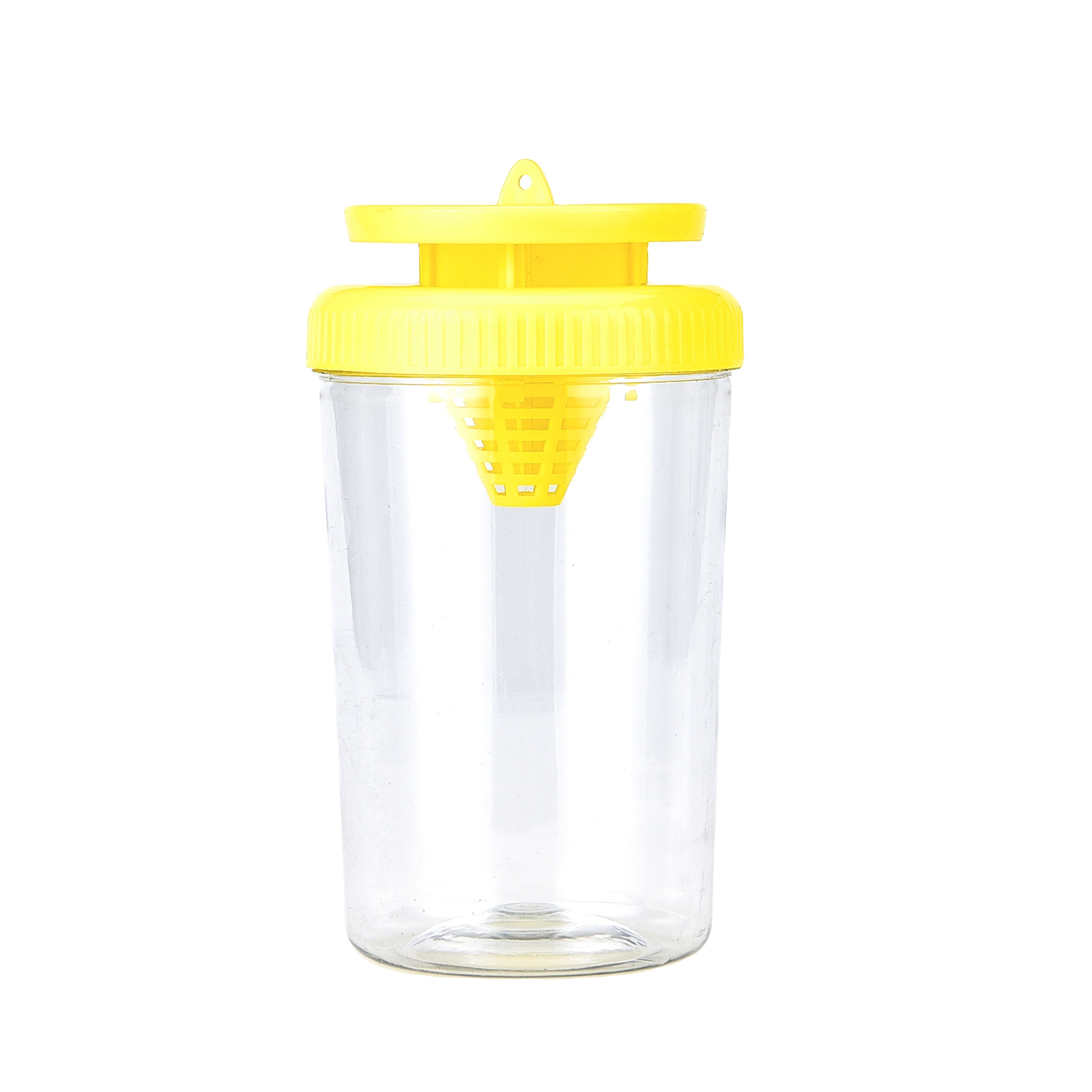 Plastic hanging automatic bottle fruit fly trap glue trap fan indoor catcher insect flies with bait