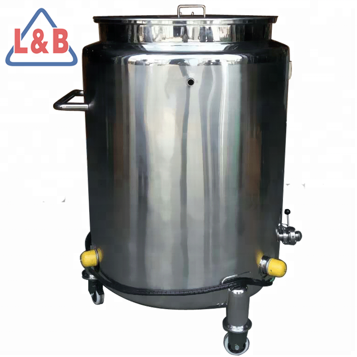 industrial competitive hot water storage tank, Wenzhou steel jacketed chocolate/oil/butter melting tank