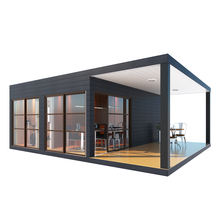 Prefab modular container house used for office, villa, private house, warehouse, hotel, dormitory