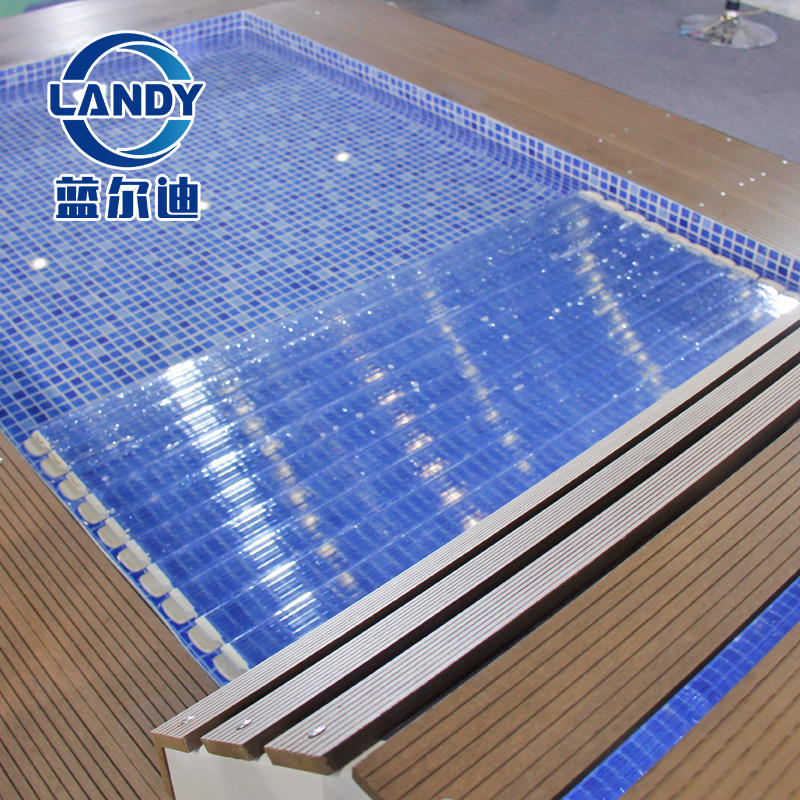 High Quality Polycarbonate Automatic Swimming Pool Cover with Polycarbonte Material
