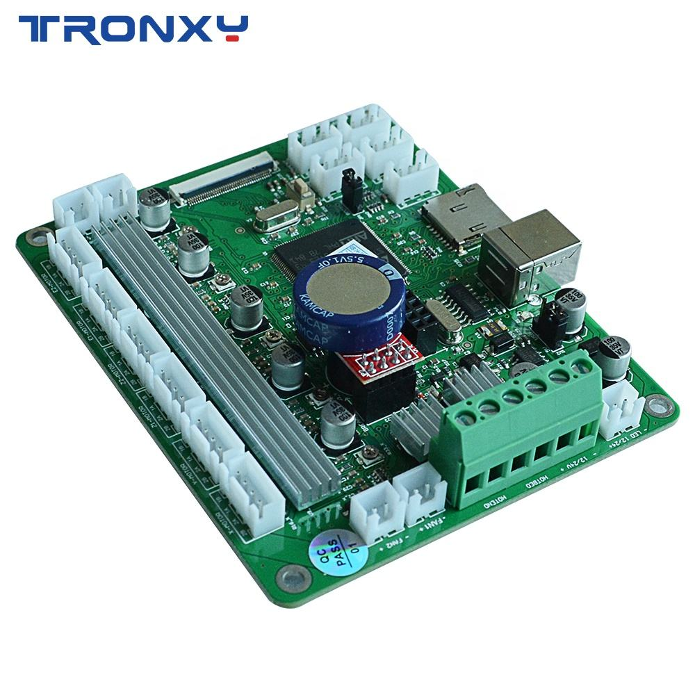 New design Ultra-quiet driver mainboard ARM 32bit Controller Board Brand Tronxy touch screen 3D printers mainboard