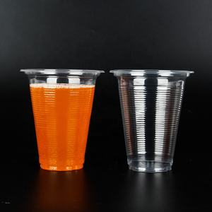 Transparent takeaway 12oz coffee cold cup disposable cups for hot drinks