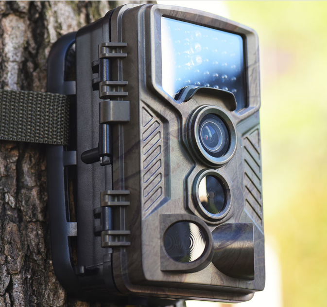 1080p Outdoor 16mp IP56 Waterproof 0.2-0.5s Triggering IR Night Vision Trail Hunting Camera
