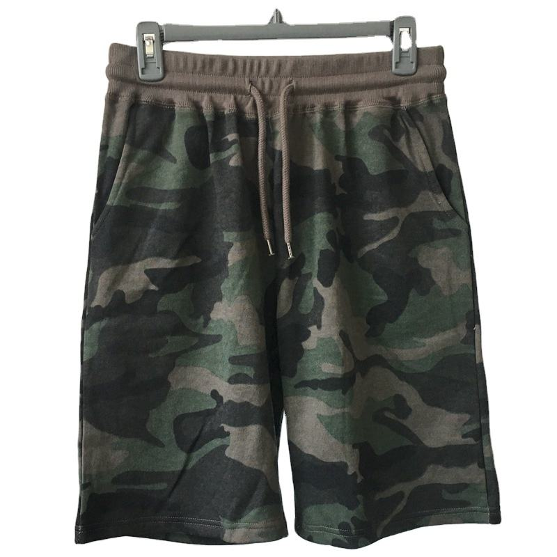 Plus Size Short Men Khaki Military Pants Multi-pocket Camouflage Shorts Men Military Shorts Trousers Loose Fit Military Short