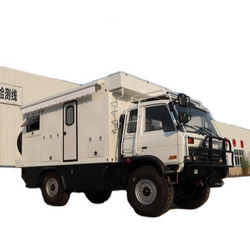 Dongfeng 4*4 Rough Terrain RV Car Mines Exploration Motorhome Geoexploration Support Vehicle