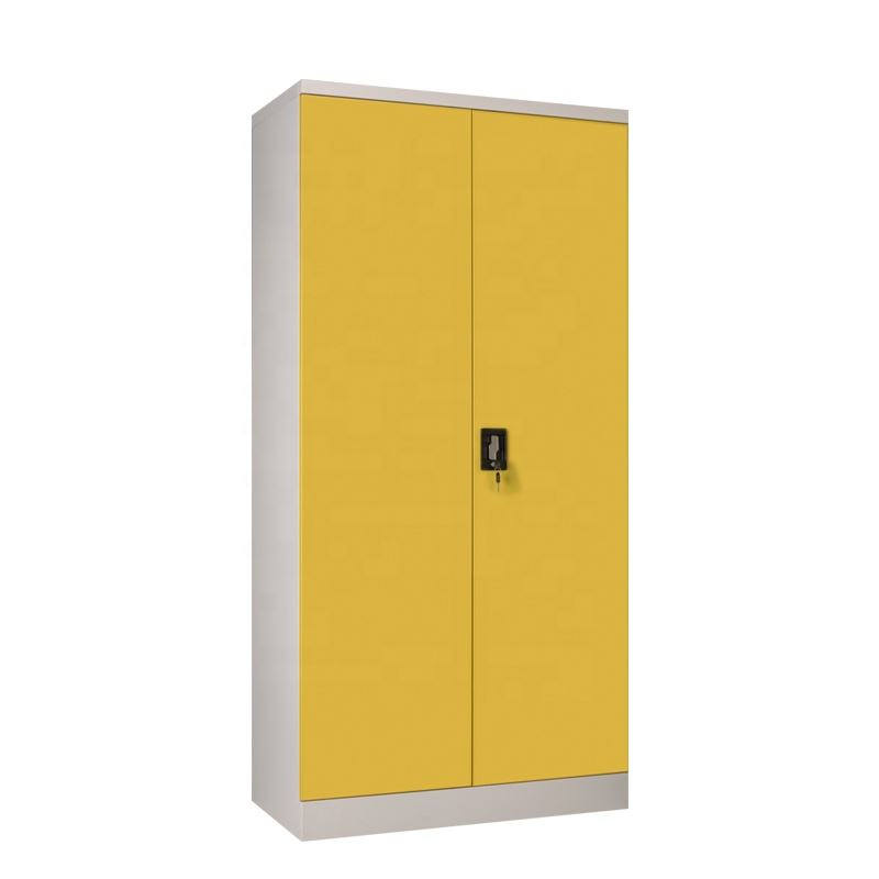KD Commercial Furniture Powder Coated Metal File Cabinet 4 Shelves /Iron Cupboard/Steel Cabinet