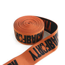 jacquard nylon custom elastic band with logo underwear waistband for men shirts trouser