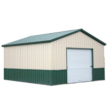 Fast assembled popular steel storage shed for sale Prefabricated frame metal