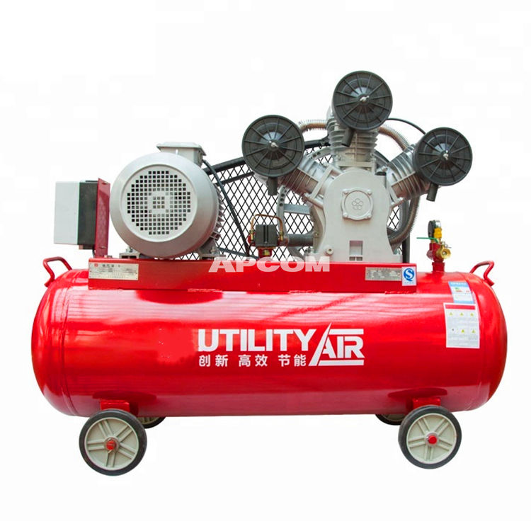 APCOM Aircompressors Belt Drive 8 bar 5 hp 4 kw piston air compressor 8bar 5hp 4kw air compressor