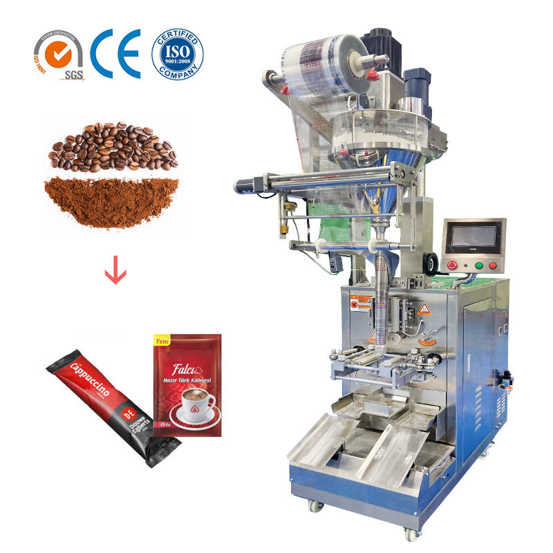 KL-160 small vertical nest cafe 15g/20g coffee powder stick packing machine thailand