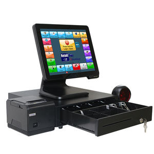 China Touch EPOS restaurant/hotel pos system mit celeron fenster pos software