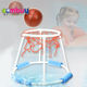 Sport game hoop ball swimming pool float toys water basketball goal