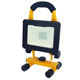USB DC charging and solar charging floodlight 1000lm Rechargeable Portable LED flood lights with solar panel IP65