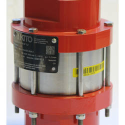 Detonation flame arresters protects vessels/components against stable detonation of flammable liquids/gases, RG-Det4-IIA-...