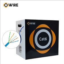 23Awg Cat6 Lan Cable  305M Roll Price With Good Quality