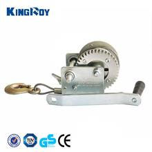 Reliable 800lbs manual boat winch wire hand winch hand anchor winch