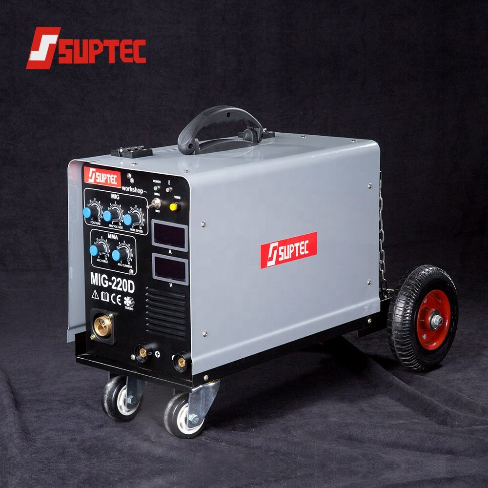Chinese top brand electric portable mobile 110v 220v welding inverter mma mig 200 welder machine