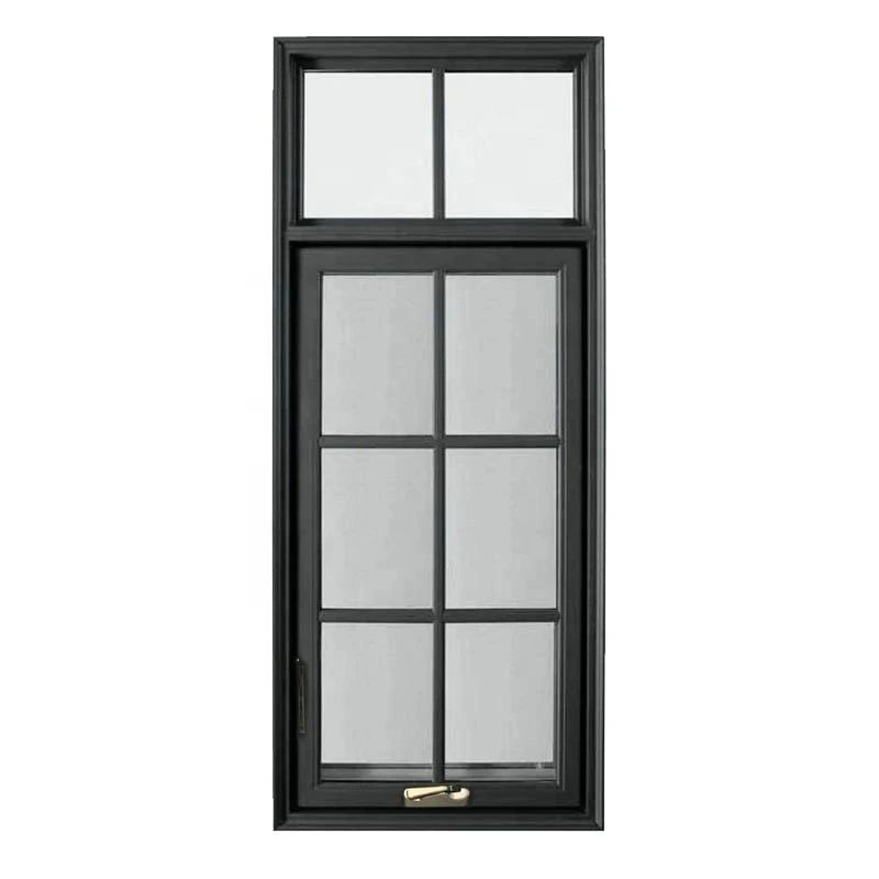 American standard single aluminum casement window