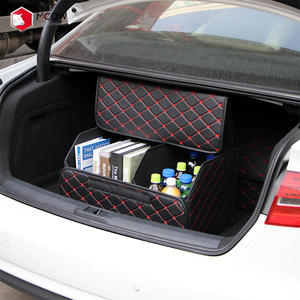 Mcow Folding Tidy Car Boot Storage Bag Organiser Heavy Duty Large Car Trunk Organizer