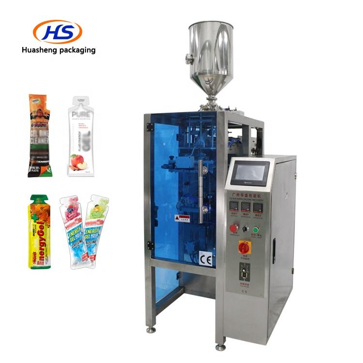 New Automatic Liquid Fruit Gel Concentrated Juice Special Shaped Stick Bag Packing Machine For HS240TY