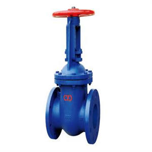 4 INCH gear box long stem extended stem water gate valve