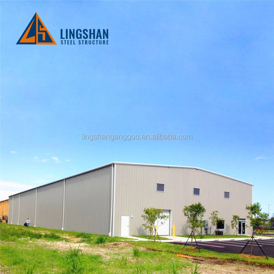 Low Price Industrial Shed Design Prefab Steel Warehouse Commercial Building
