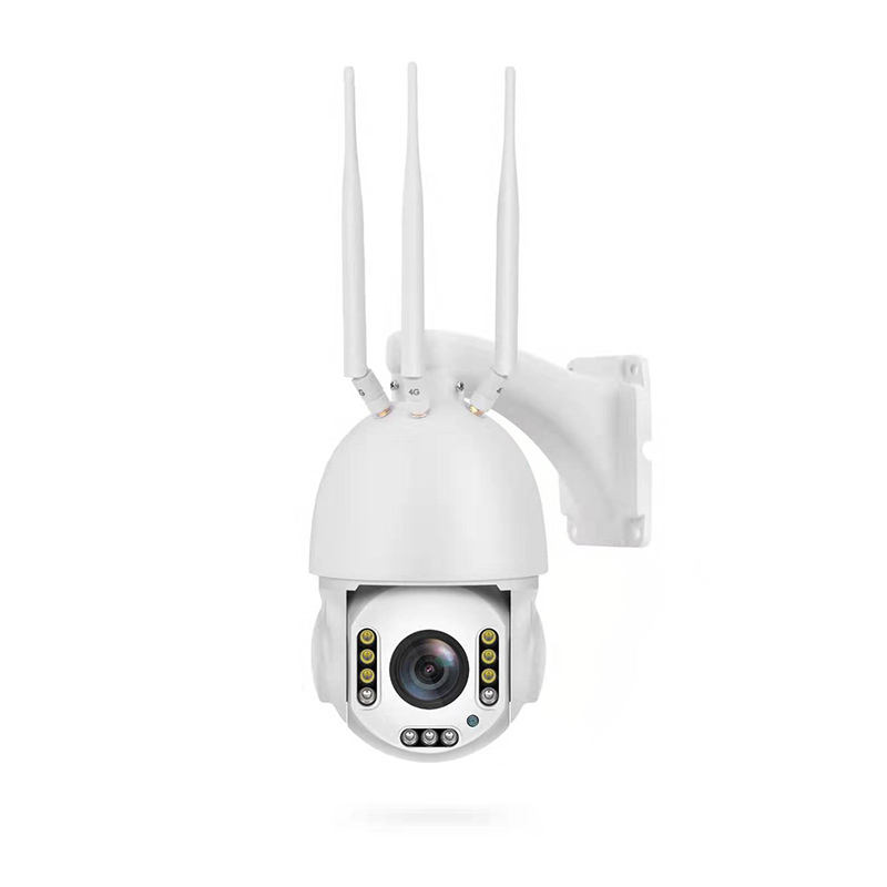 2MP 5x Zoom 3g 4g Sim Card Ip Camera Speed Dome 2MP Cctv camera wireless outdoor dome ptz ip camera With colorful night vision