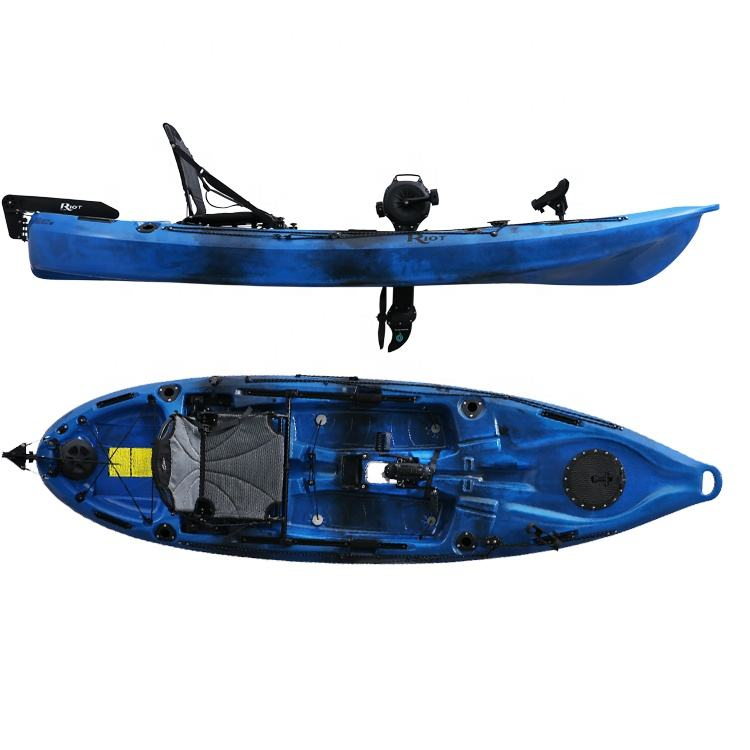 Bateau MAKO 10 kids kayak with seat kayak with pedals fishing
